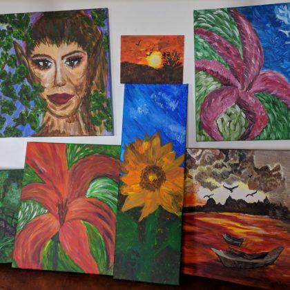 Picturile mele – acril